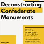 Deconstructing Confederate Monuments